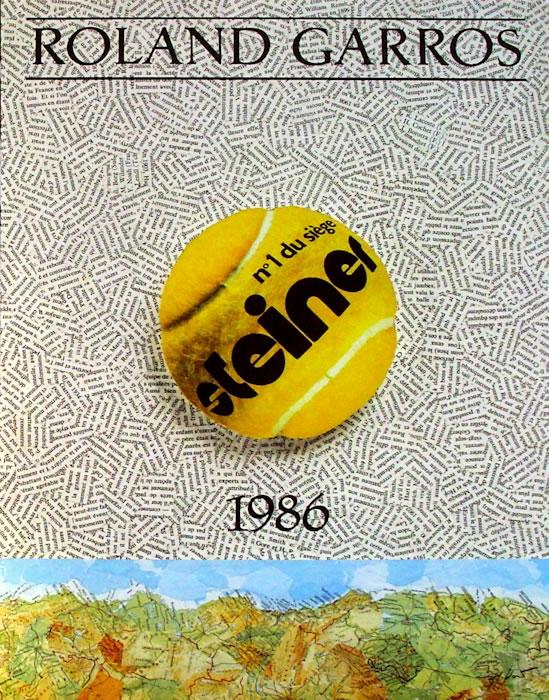 Graphisme : Toutes les affiches de Roland-Garros depuis 1980 27