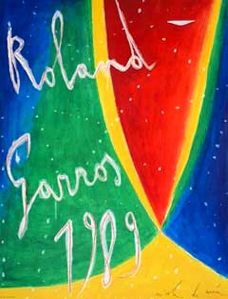 Graphisme : Toutes les affiches de Roland-Garros depuis 1980 24