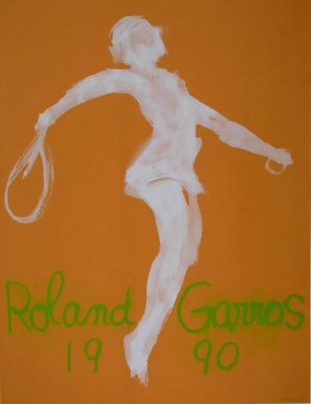 Graphisme : Toutes les affiches de Roland-Garros depuis 1980 23