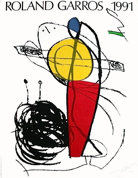 Graphisme : Toutes les affiches de Roland-Garros depuis 1980 22