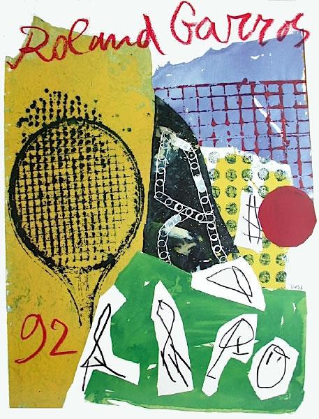 Graphisme : Toutes les affiches de Roland-Garros depuis 1980 20