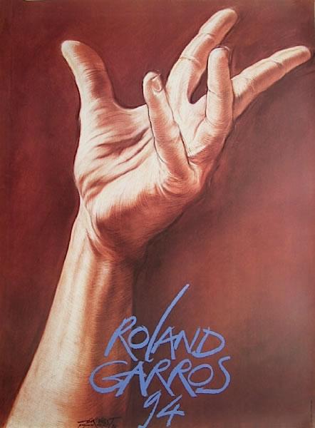 Graphisme : Toutes les affiches de Roland-Garros depuis 1980 21