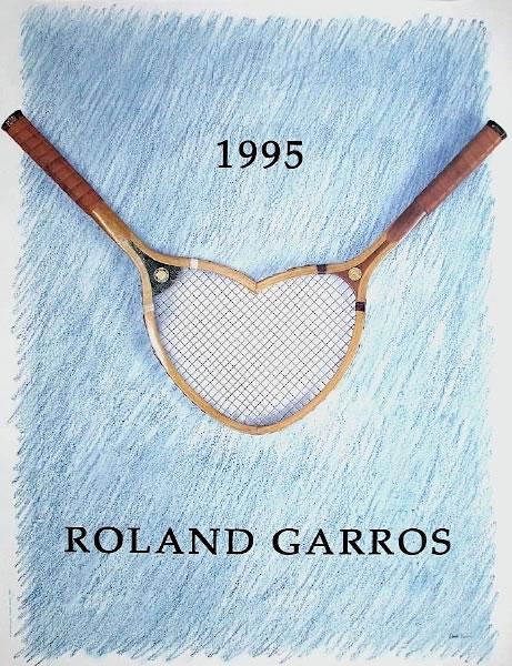 Graphisme : Toutes les affiches de Roland-Garros depuis 1980 19