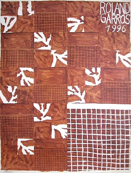 Graphisme : Toutes les affiches de Roland-Garros depuis 1980 18