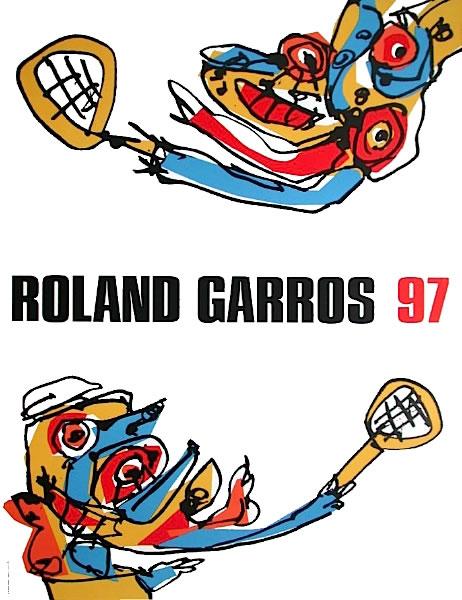 Graphisme : Toutes les affiches de Roland-Garros depuis 1980 17