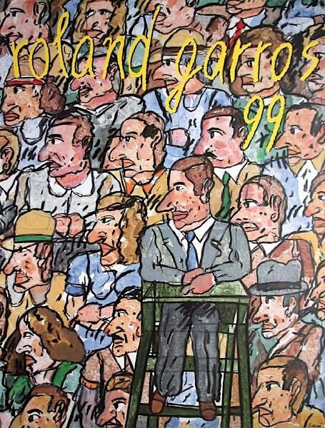 Graphisme : Toutes les affiches de Roland-Garros depuis 1980 15