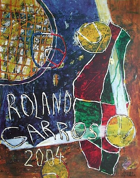 Graphisme : Toutes les affiches de Roland-Garros depuis 1980 10