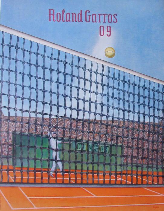 Graphisme : Toutes les affiches de Roland-Garros depuis 1980 5