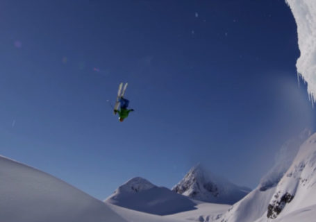 Ski : Drop in with Zack Giffin in Alaska 8