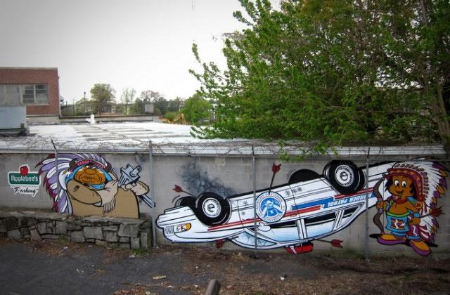 Street art vol13 57 70 street art fun et créatifs – vol 13