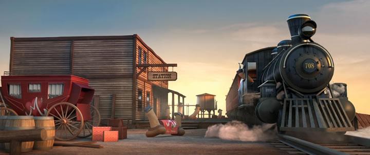 Court métrage supinfocom : Wanted Melody - Un Western Phallus 2