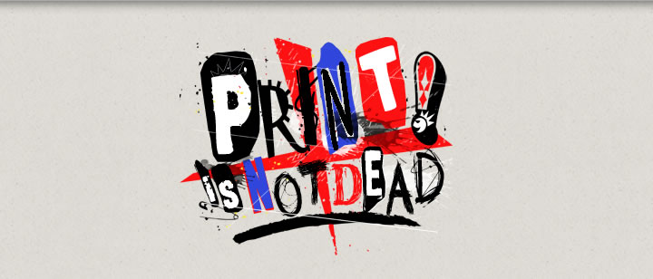 Concours : Print is Not Dead 2
