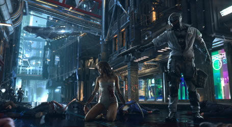 Teaser 3D : Cyberpunk 2077 1