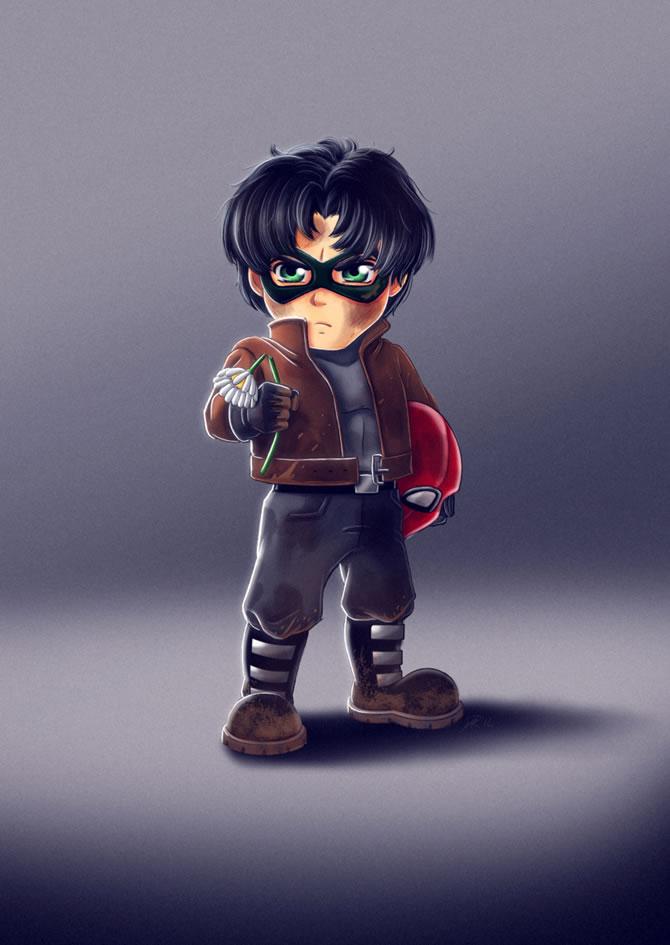 Illutration super-héros  Ryodita (1)