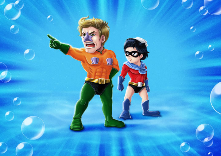 Illutration super-héros  Ryodita (10)