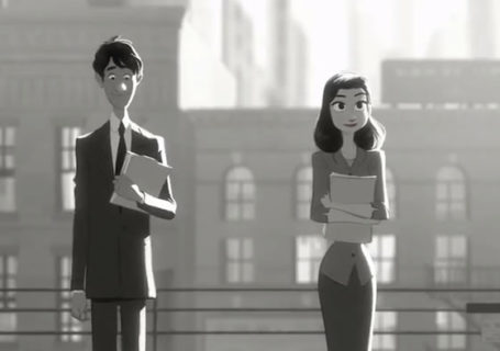Court métrage Disney : Paperman 12