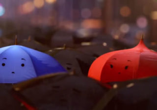 Court métrage : Pixar - The Blue Umbrella 1