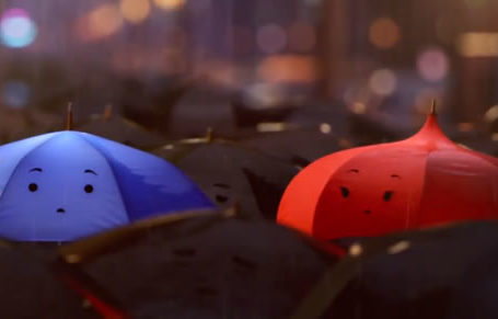 Court métrage : Pixar - The Blue Umbrella 10