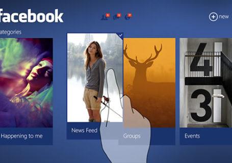 Concept UI : Facebook sur Windows 8 3
