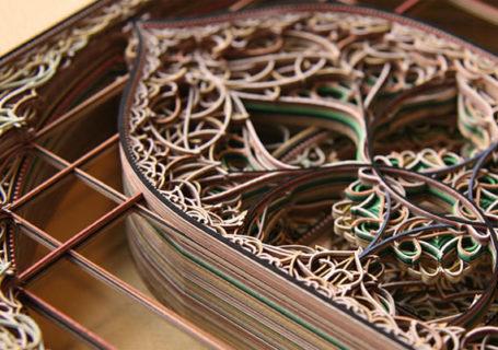 Portfolio : les oeuvres papiers créées au laser Eric Standley 9