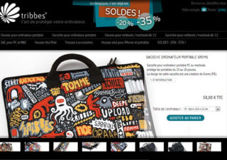 [#concours 4ans @Olybop] Housse design pour votre netbook ou macbook + multi-lots Tribbes
