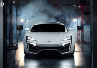 Concept Car Design : Lykan Hypersport 1