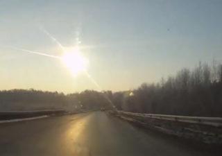 Mère Nature : Pluie de météorites en Russie 1