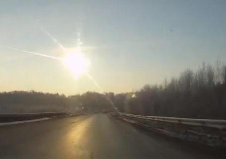 Mère Nature : Pluie de météorites en Russie 8