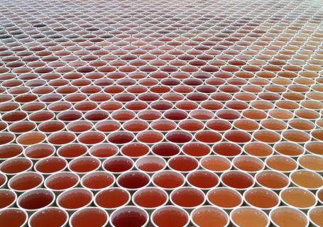 Concept : 66 000 verres pour une mosaïque d'eau 4