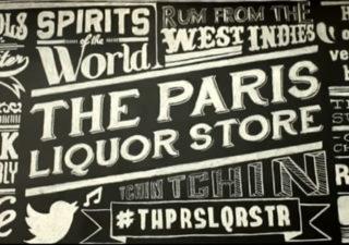 Typographie : The Paris Liquor Store Concept by Ninjaz