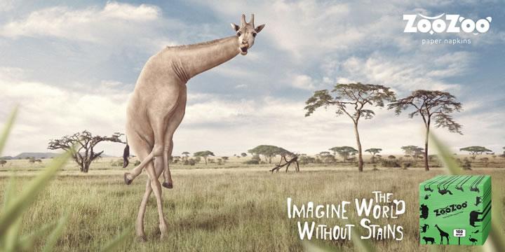 ZooZoo-napkins-Giraffe