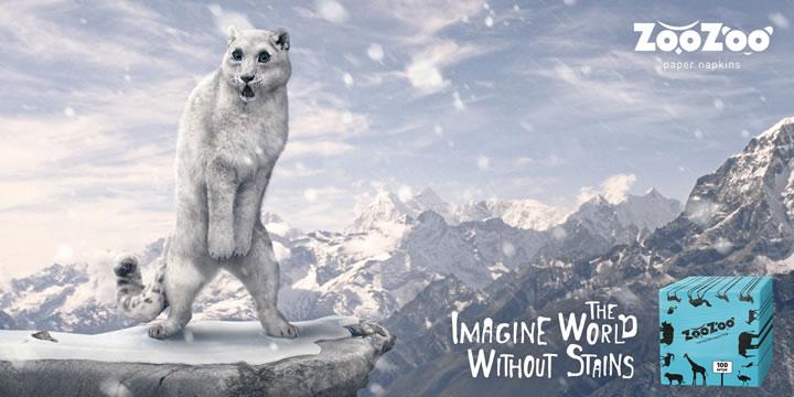 ZooZoo-napkins-Snow-leopard