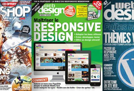 [Concours FINI] Gagnez 5 packs de magazines webdesign et créatifs 9
