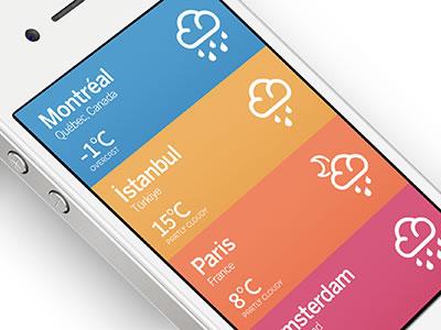 flat design appli 4