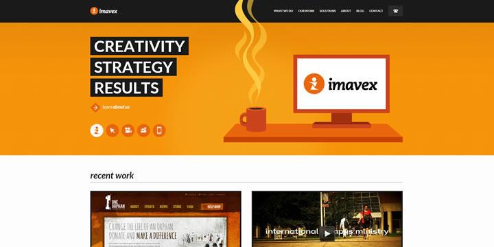 flat design imavex