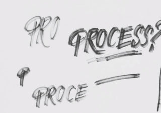 Typographie : What's your process ? 1