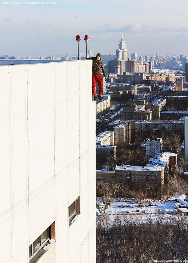 Daredevil suspendu immeubles (7)