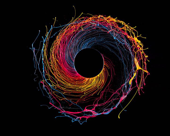 Fabian Oefner - Black Hole (2)