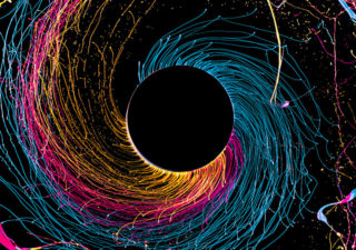 Photographies : Black Hole en couleurs par Fabian Oefner
