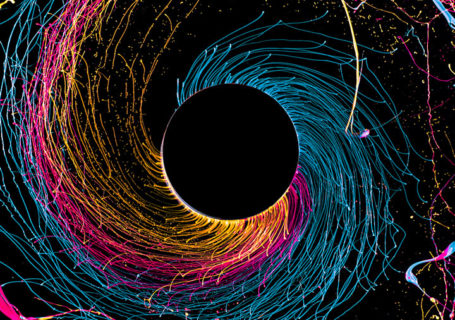 Photographies : Black Hole en couleurs par Fabian Oefner 1