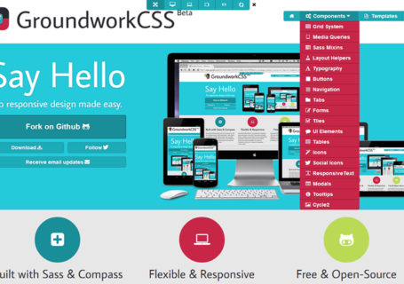 Ressources : Un toolkit HTML5, CSS et JS responsive - Groundwork 4