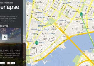 Hyperlapse : Naviguez dans Google maps entre 2 lieux 1