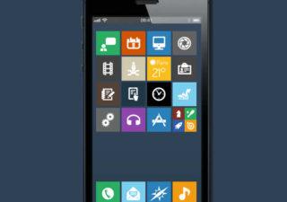 Concept iOS 7 - Flat Design