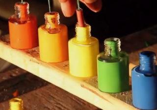Slowmotion : Explosions de pots de peinture à 15 000 fps