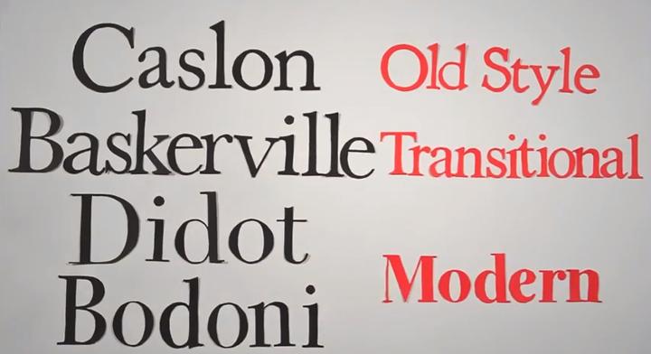 histoire typographie