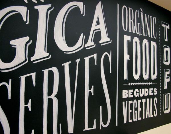 Typographie  Devanture de magasin Rétro (1)
