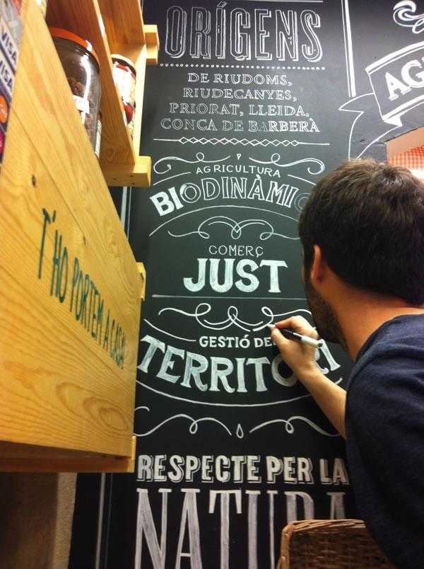 Typographie  Devanture de magasin Rétro (11)