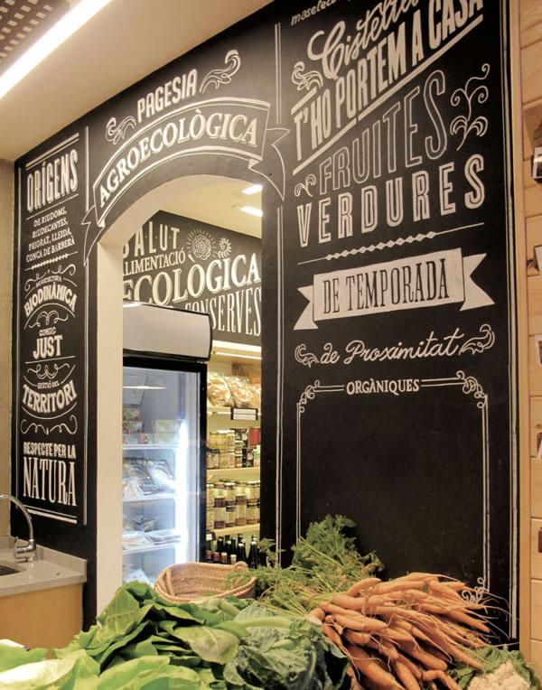 Typographie  Devanture de magasin Rétro (12)