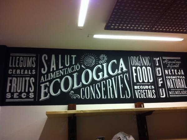 Typographie  Devanture de magasin Rétro (3)
