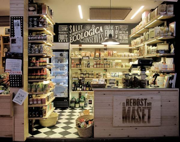 Typographie  Devanture de magasin Rétro (4)
